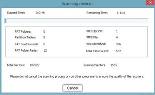 device-scanning-recover-lost-files-external-hard-drive