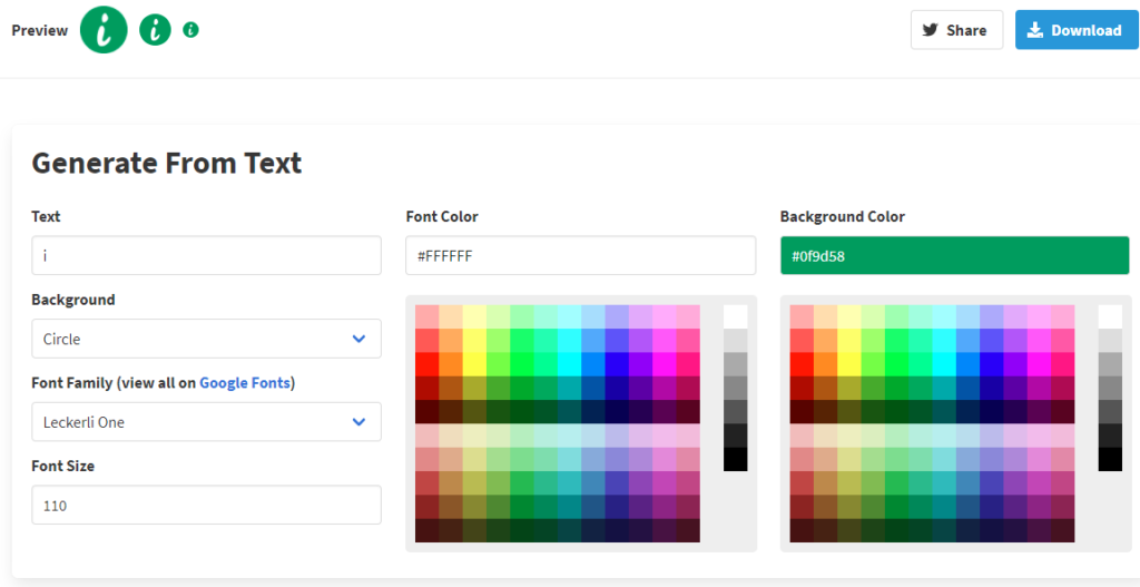 generating-favicon-from-text-change-colours-and-font-type