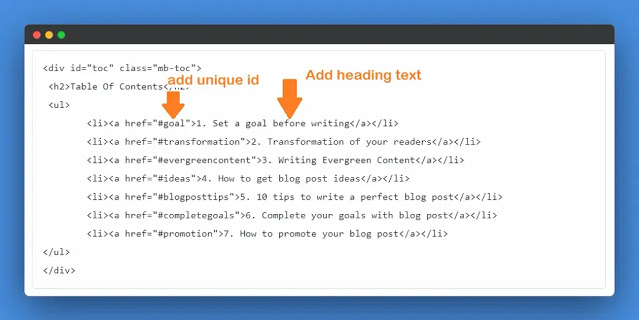 adding-id-and-text-in-toc-custom-html-in-blogger-website